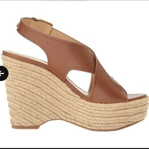 Michael Kors Angeline platform wedge sandals size9